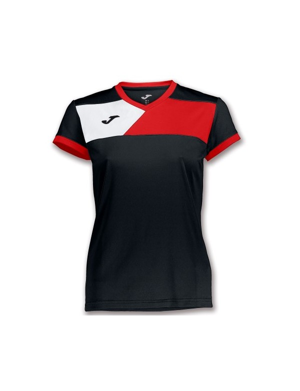 T-SHIRT CHAMPION IV WOMAN NAVY-RED