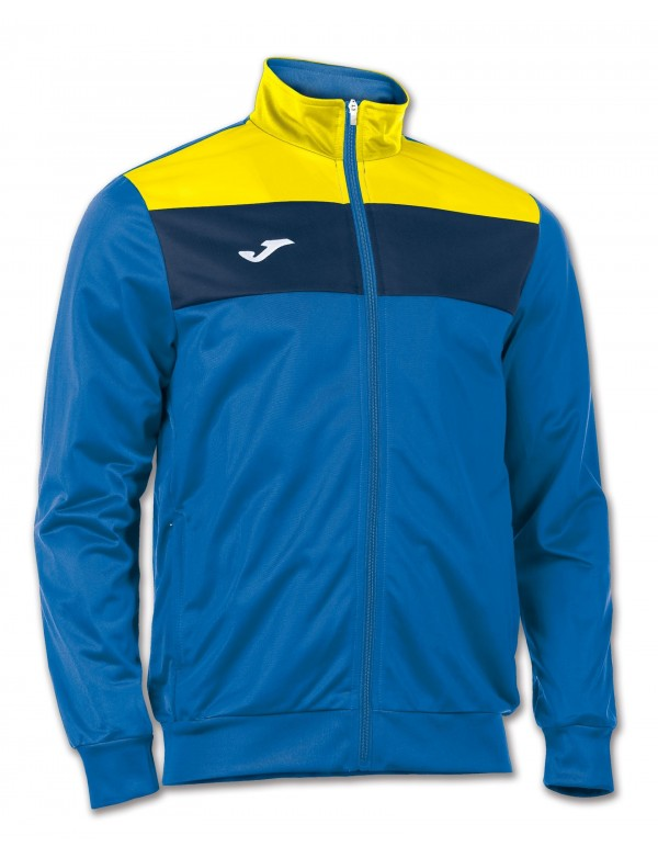 JACKET CREW ROYAL-YELLOW