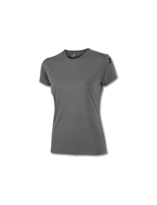 COTTON T-SHIRT ANTHRACITE S/S WOMEN