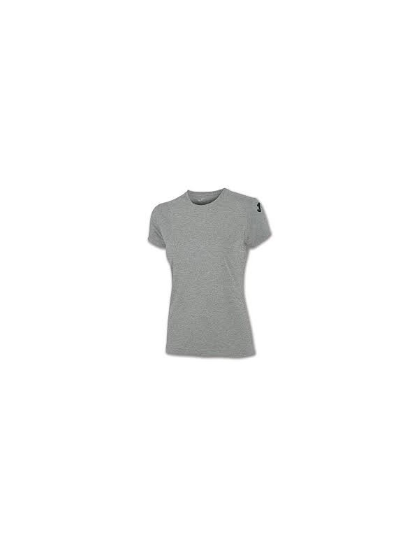 COTTON T-SHIRT GREY S/S WOMEN