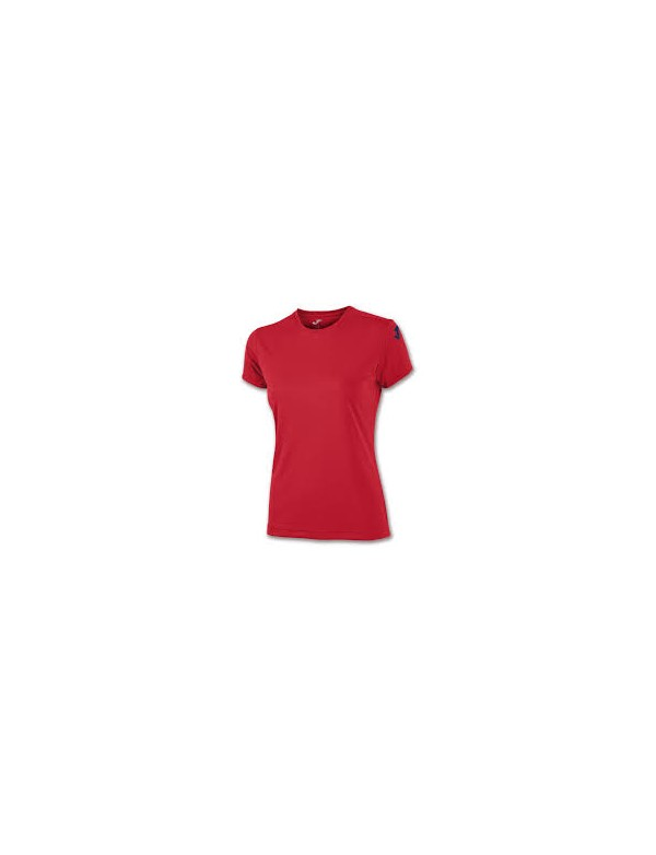 COTTON T-SHIRT RED S/S WOMEN
