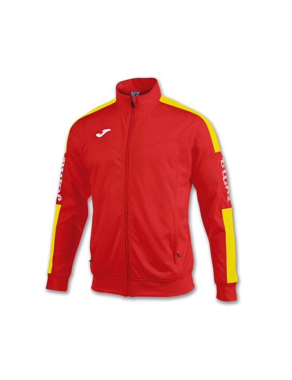 JACKET CHAMPION IV RED-YELLOW