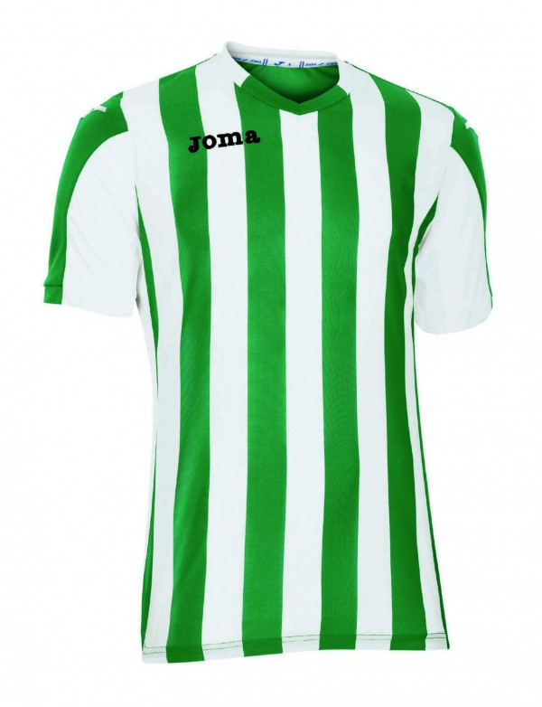 T-SHIRT COPA GREEN-WHITE S/S