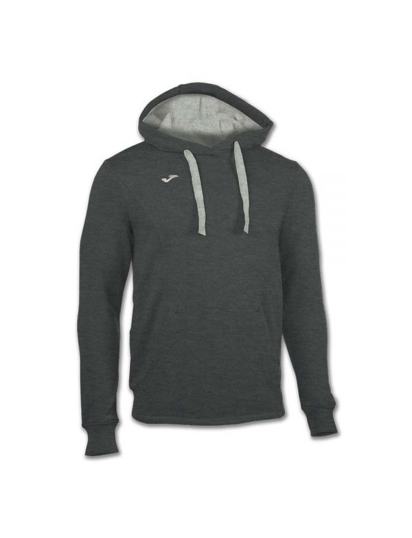 SWEATSHIRT HOODED TRAVEL ANTHRACITE