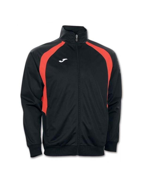 JACKET CHAMPION III BLACK- ORANGE FLUOR