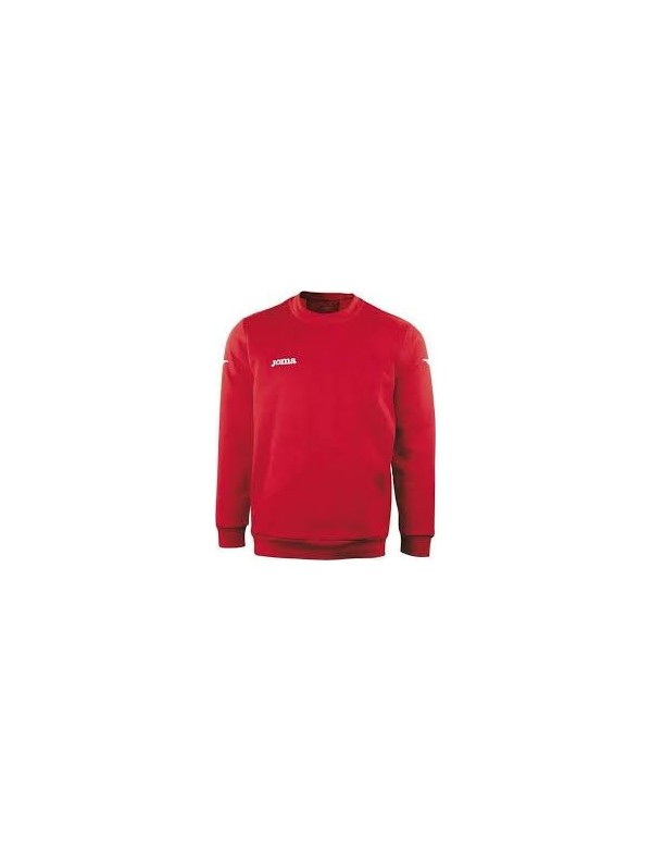 SWEATSHIRT POLYFLEECE 235GR COMBI RED