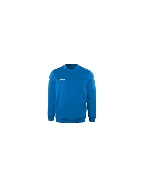 SWEATSHIRT POLYFLEECE 235GR COMBI ROYAL