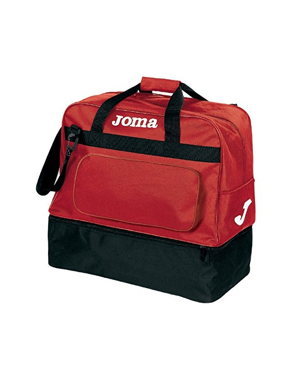 BAG TRAINING III BLACK-RED -MEDIUM