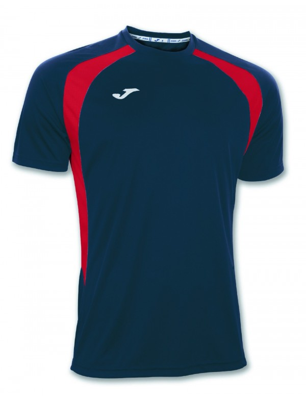 T-SHIRT CHAMPION III NAVY-RED S/S
