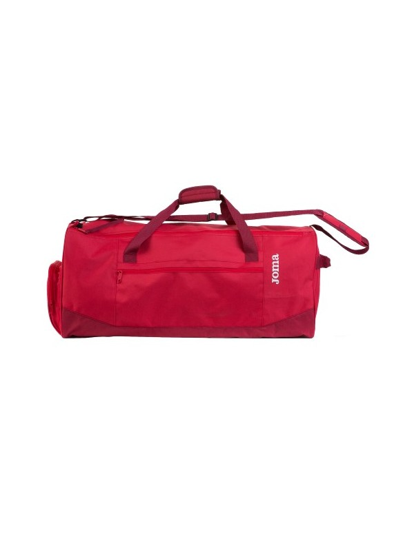 TRAVEL BAG RED - MEDIUM -