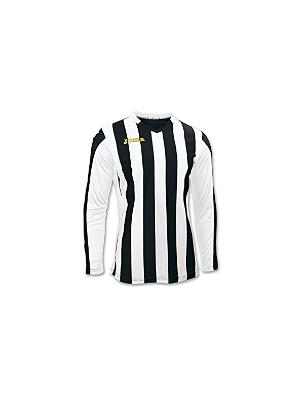 T-SHIRT COPA BLACK-WHITE L/S