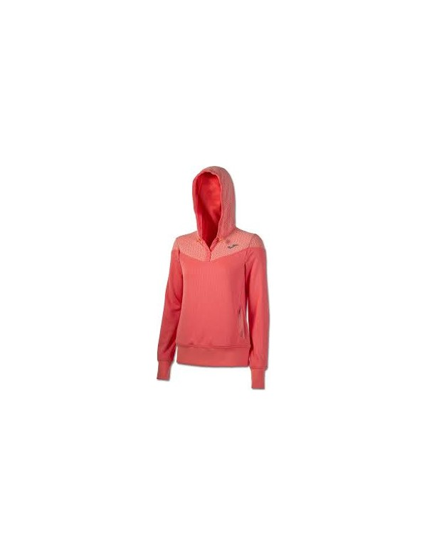SWEATSHIRT HOODED CORAL
