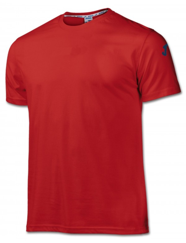 COTTON T-SHIRT RED S/S