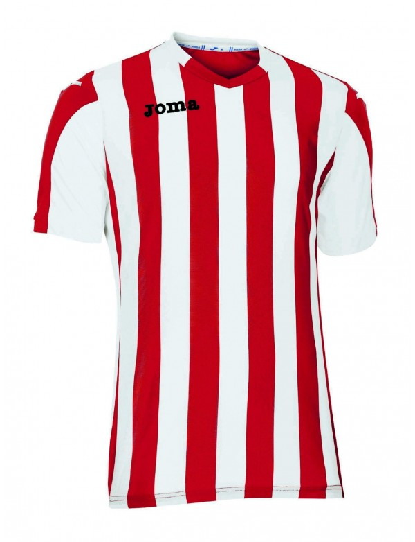 T-SHIRT COPA RED-WHITE S/S