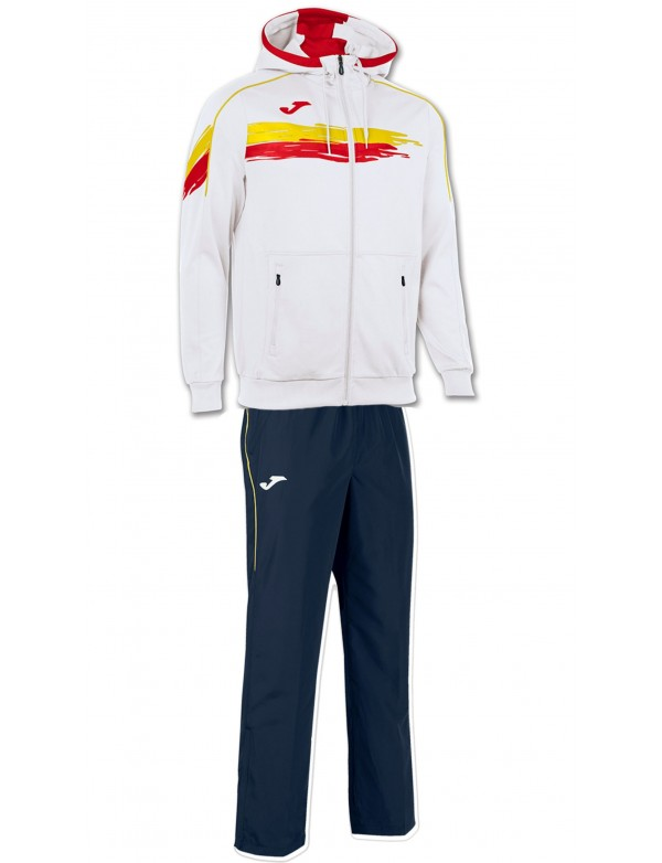 PICASHO TENNIS TRACKSUIT WHITE-NAVY-RED