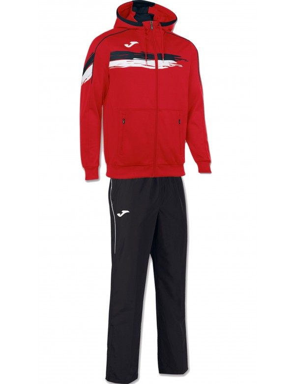 JACKET HOODED TENNIS RED