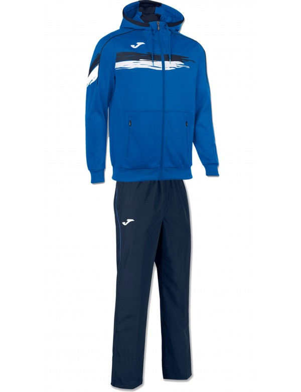 JACKET HOODED TENNIS ROYAL
