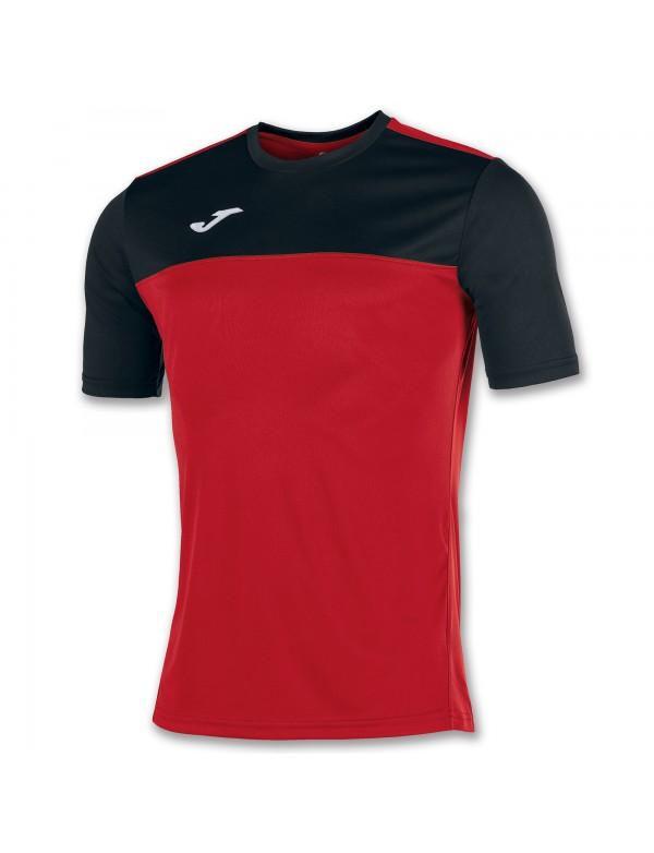 T-SHIRT WINNER RED-BLACK