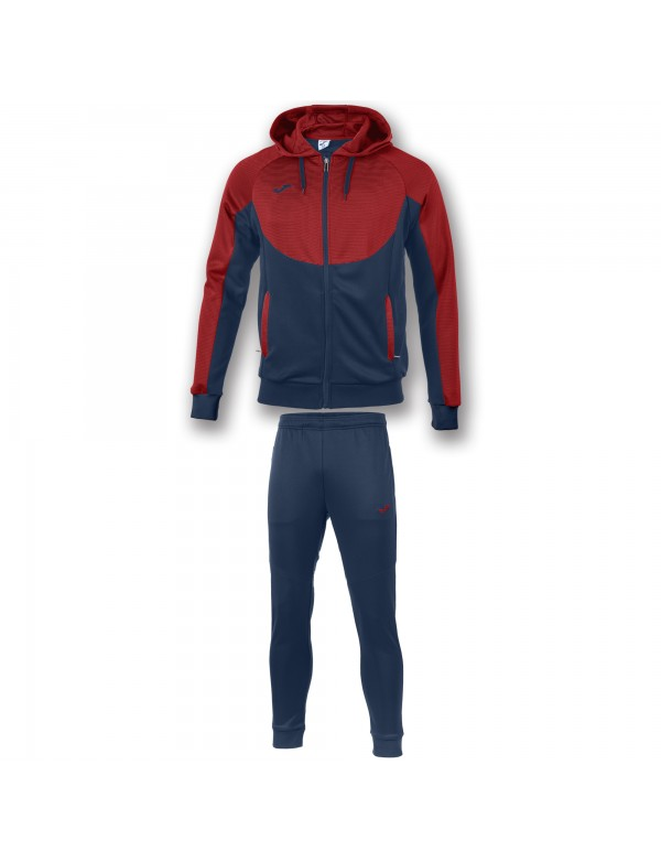TRACKSUIT ESSENTIAL RED-NAVY