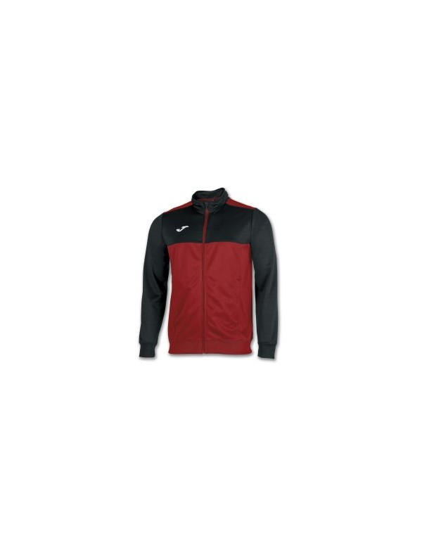 WINNER TRACKSUIT TOP RED-BLACK