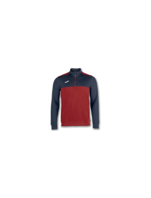 WINNER SWEATSHIRT RED-NAVY