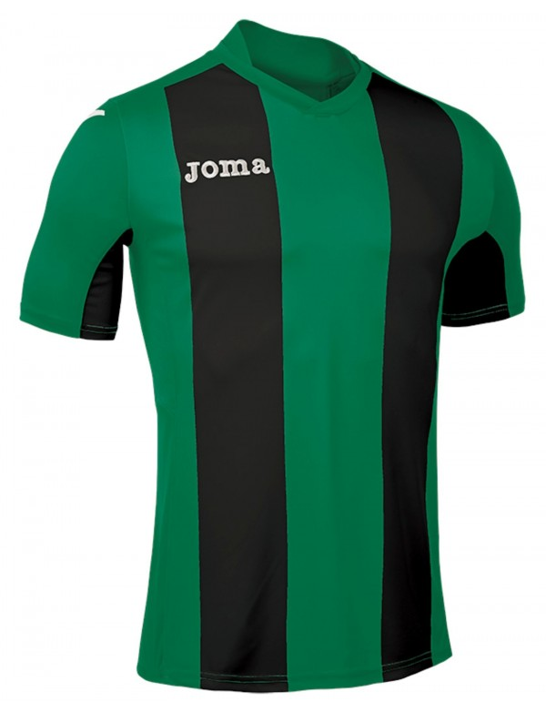 T-SHIRT PISA V  GREEN-BLACK  S/S