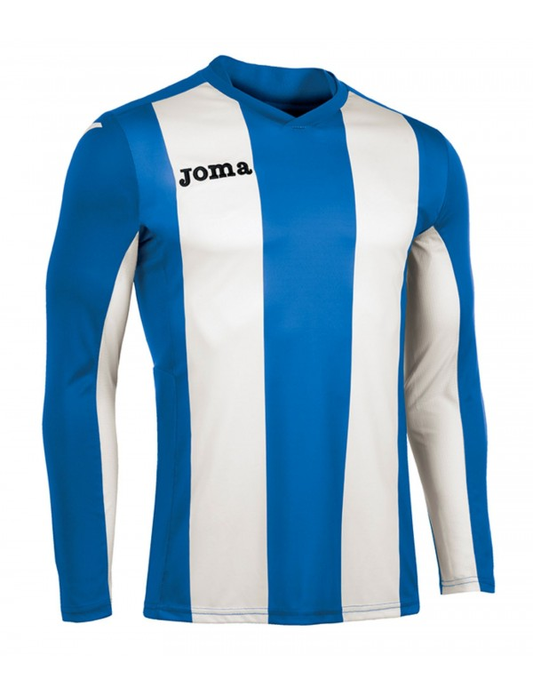 T-SHIRT VERTICAL STRIPED ROYAL L/S