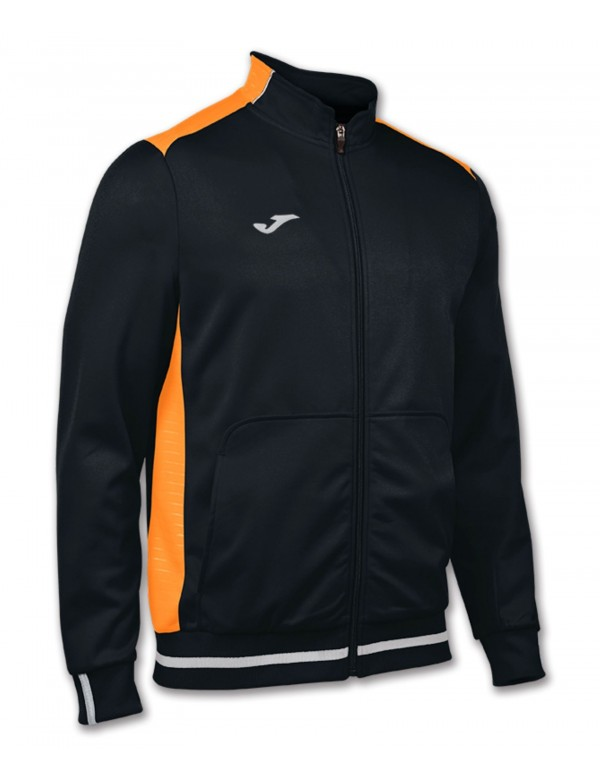 CAMPUS II JACKET BLACK-ORANGE FLUOR