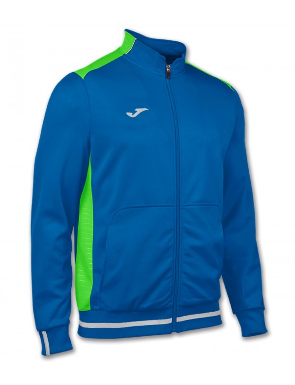 CAMPUS II JACKET ROYAL-GREEN FLUOR