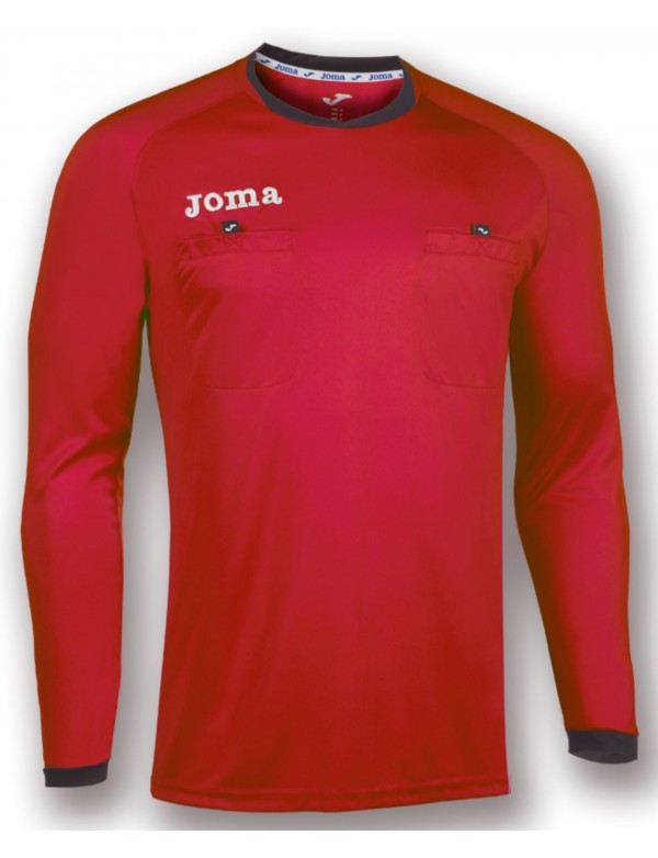 T-SHIRT REFEREE RED