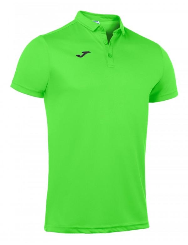 POLO SHIRT GREEN FLUOR S/S
