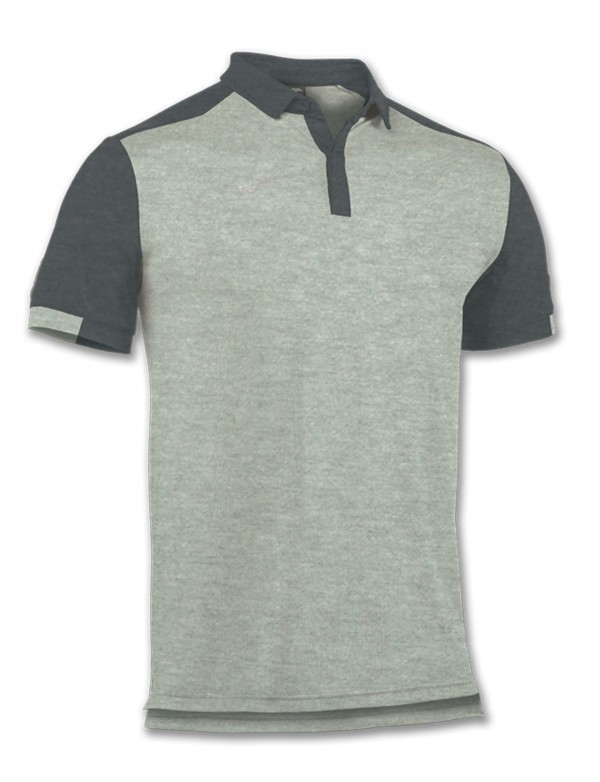 POLO SHIRT TRAVEL GREY S/S