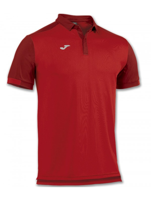 POLO SHIRT TRAVEL RED S/S