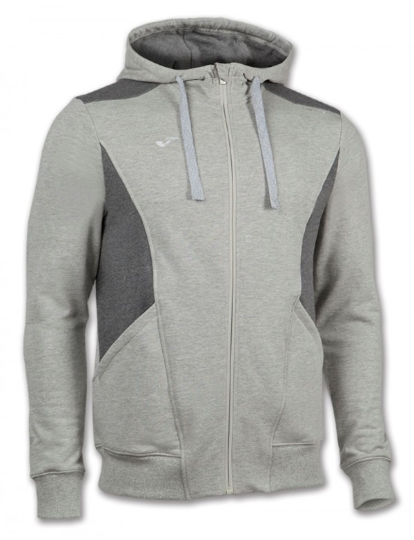 JACKET HOODED TRAVEL GREY