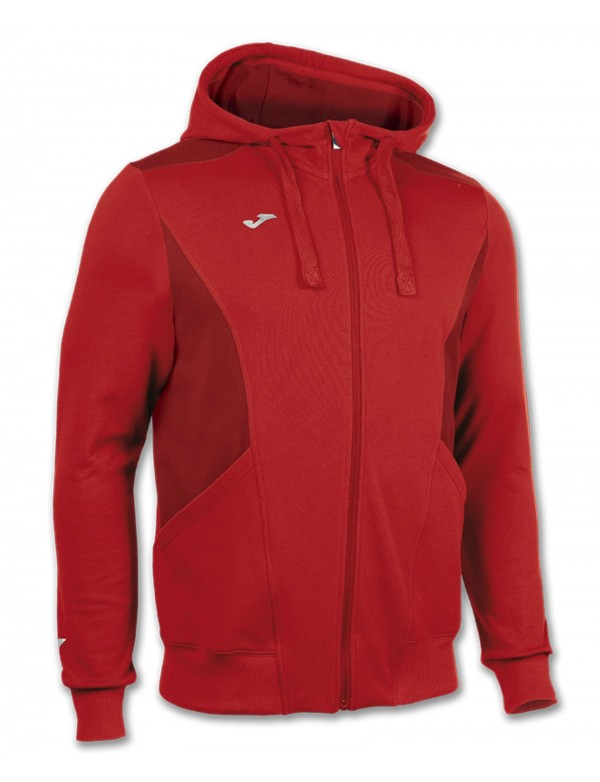 JACKET HOODED TRAVEL RED