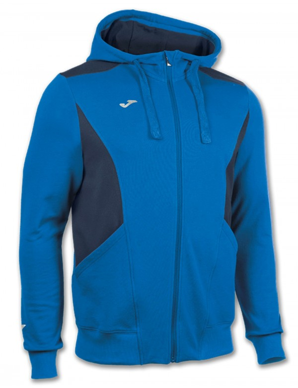 JACKET HOODED TRAVEL ROYAL