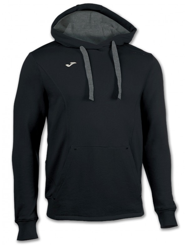 SWEATSHIRT HOODED TRAVEL BLACK