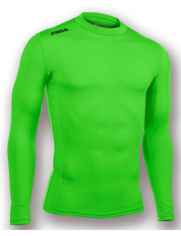 T-SHIRT GREEN FLUOR (SEAMLESS UNDERWEAR) L/S