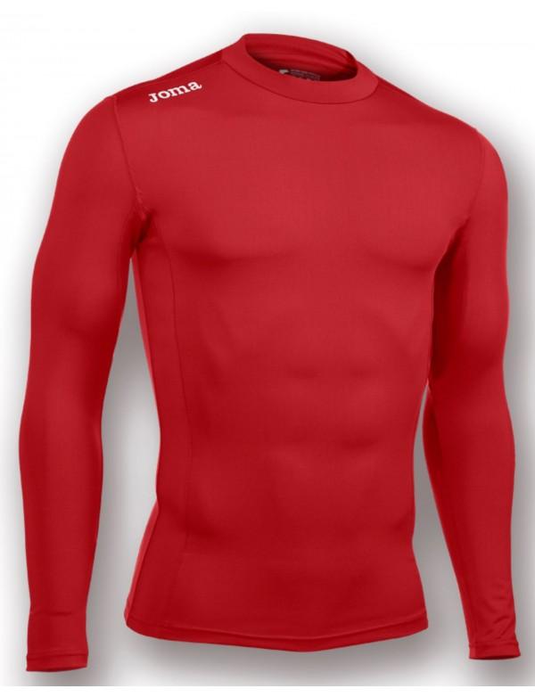 T-SHIRT RED (SEAMLESS UNDERWEAR) L/S
